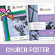 Modern Church Poster Template - GraphicRiver Item for Sale