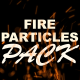 Fire Particles / Sparks - VideoHive Item for Sale