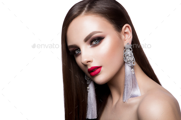 Beautiful woman portrait - Stock Photo - Images