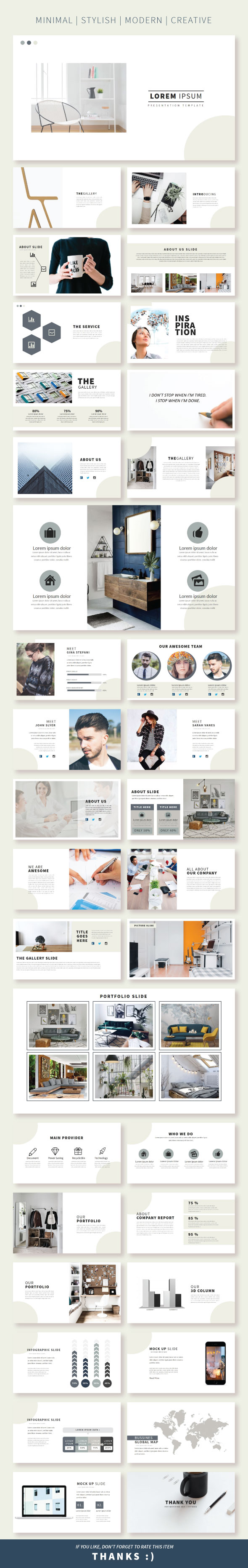 Lorem Keynote Template - Creative Keynote Templates