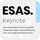 Esas Keynote Template - GraphicRiver Item for Sale