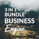 3 in 1 Business Engine Premium Google Slide Bundle Template - GraphicRiver Item for Sale