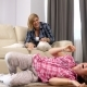Happy Mother and Teenage Daughter Tickling Each Other - VideoHive Item for Sale