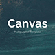 Canvas Multipurpose Powerpoint Template - GraphicRiver Item for Sale