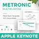 Metronic Business Proposal Keynote Template - GraphicRiver Item for Sale