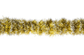 Seamless Christmas gold silver tinsel - PhotoDune Item for Sale
