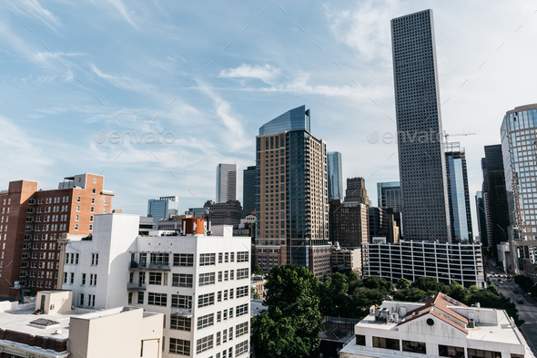 Cityscape Houston - Stock Photo - Images