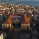 Aerial Drone Shot of Sunset in Istanbul, Turkey - VideoHive Item for Sale