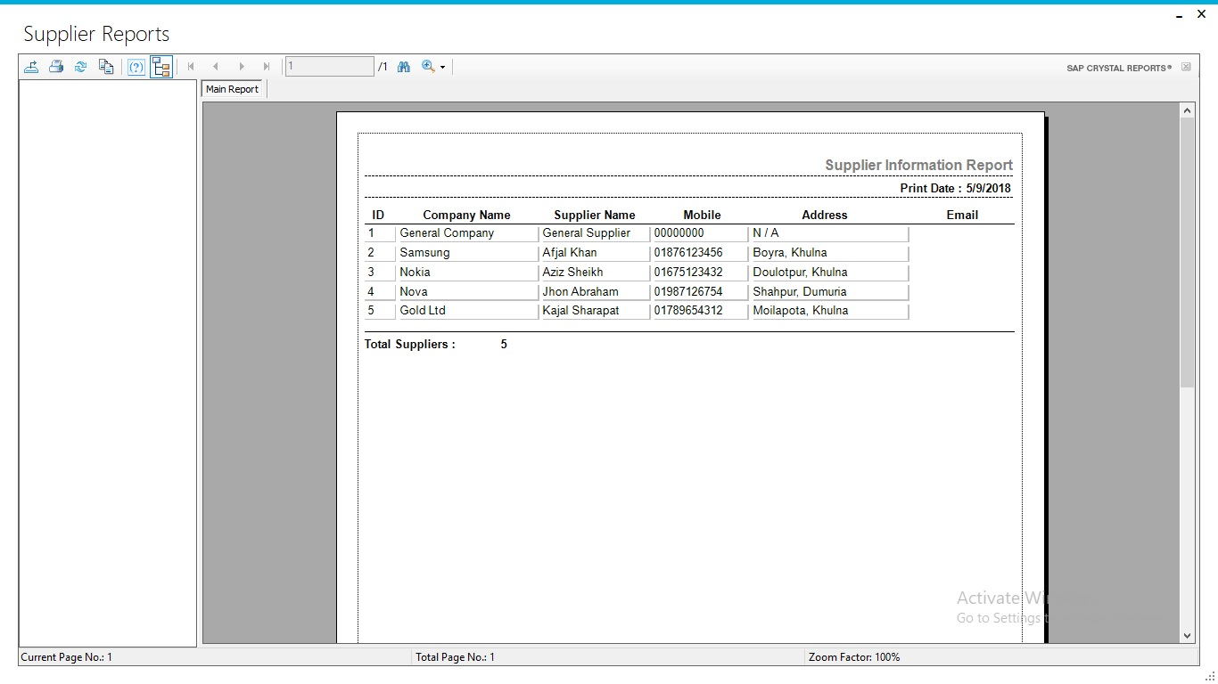 Business ERP | Inventory & Accounting Software With Full Project & Source  Code