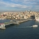Aerial Drone View of the Istanbul, Turkie. Bosphorus Halic Bay. Sunny Day - VideoHive Item for Sale