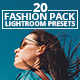 20 Fashion Pack Lightroom Presets - GraphicRiver Item for Sale