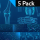 Simple Medical Background-5 Pack - VideoHive Item for Sale