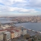 Aerial Drone Shot of Cloudy Day in Istanbul, Turkey - VideoHive Item for Sale