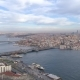 Cloudy Day in Istanbul, Turkie. From Above, City Centre, Downtown. Bosphorus. - VideoHive Item for Sale