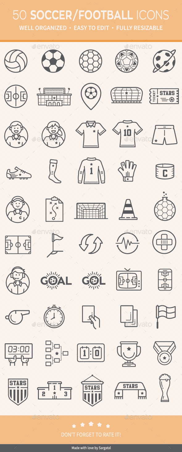Soccer / Football Icons - Icons