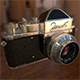 """Zenit"" soviet photo camera (1952) - 3DOcean Item for Sale"