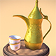 Arabic Coffee (Dallah & Finjan) - 3DOcean Item for Sale