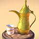 Arabic Coffee (Dallah & Finjan)