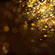 Golden Particles Background - VideoHive Item for Sale