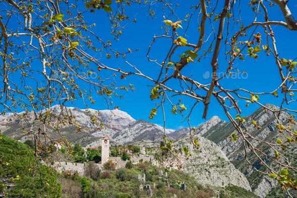 Stari Bar ruins in Montenegro - Stock Photo - Images