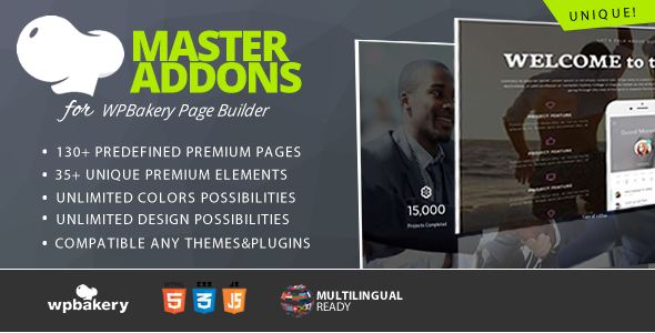 Master Addons for WPBakery Page Builder (formerly Visual Composer) - CodeCanyon Item for Sale