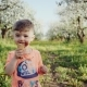 Little Boy Licking Ice Cream in a Cone During Springtime - VideoHive Item for Sale