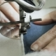 Slowly View of Stitching a Jacket with Sewing Machine - VideoHive Item for Sale
