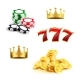 Casino Icons - GraphicRiver Item for Sale