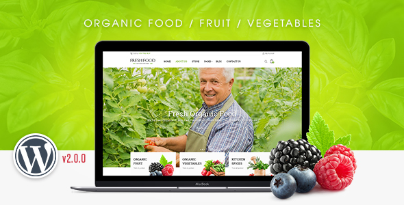 FreshFood – Multi Store Responsive WordPress Theme
