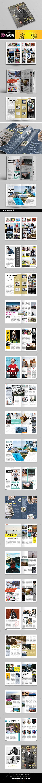 A4 Letter Magazine Template v.03 - Magazines Print Templates
