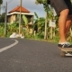 Skateboarder Going to the Surf Spot on Skateboard - VideoHive Item for Sale