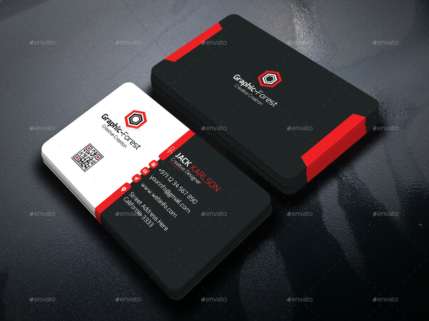 Business Card Bundle by Graphic-Forest | GraphicRiver