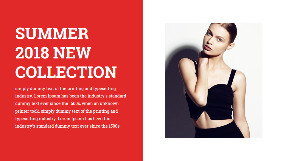 Fashion and Photography PowerPoint Presentation Template