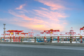 container terminal with highway  - PhotoDune Item for Sale