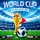 Football World Cop Poster vol.2 - GraphicRiver Item for Sale