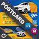 Car Wash Postcard Templates - GraphicRiver Item for Sale