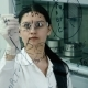 Woman in Lab Write Formula on the Glass Board - VideoHive Item for Sale