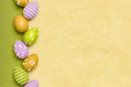 a beautiful colored eggs easter background - PhotoDune Item for Sale