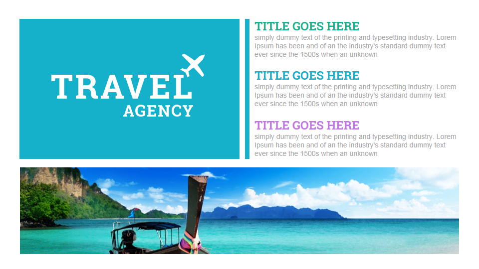 Travel And Tourism Powerpoint Presentation Template | Holliddays.co