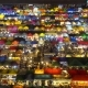 High View of Rod Fai Night Market in Ratchada - VideoHive Item for Sale