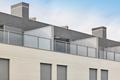New building exterior facade attics with terrace. Construction. Buy, rent - PhotoDune Item for Sale