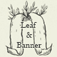 Leaf and Banner Vector Set - GraphicRiver Item for Sale