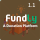 Fundly - A Donation Platform - CodeCanyon Item for Sale