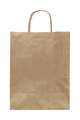 Paper bag with handle isolated on white background - PhotoDune Item for Sale