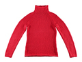Red cotton sweater isolated on white background - PhotoDune Item for Sale