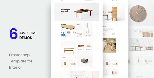 Leo Sutamura - Premium Prestashop 1.7 theme for Furniture| Interior| Decoration