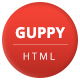 Guppy - Bootstrap 4 One Page Personal Portfolio Template - ThemeForest Item for Sale