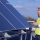 Engineer Is Checking Solar Panels - VideoHive Item for Sale