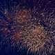 Red and Yellow Sparkles of Fireworks - VideoHive Item for Sale
