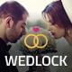 Wedlock - Wedding & Wedding Planner PSD Template